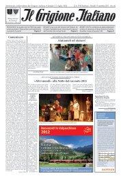 17 novembre - IlGrigioneItaliano.ch