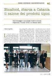 Etnafood, sbarca a Catania il salone dei prodotti tipici - Salone del ...