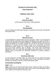 """Disciplinare di allevamento della """"Capra Girgentana"""" - Portale dell ..."""