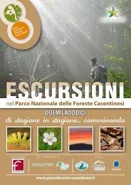 escursioni - Parco Nazionale delle Foreste Casentinesi