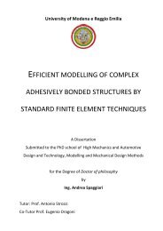 efficient modelling of complex adhesively bonded structures by ...