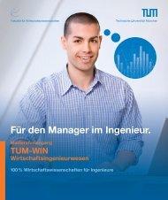 Download Flyer - TUM School of Management - Technische ...