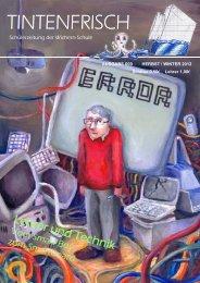 kann die Ausgabe Nr. 9 (Herbst 2012) - Wichern-Schule