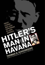 Hitler's Man in Havana: Heinz Luning and Nazi ... - WNLibrary