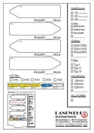 Beispiel - Landwehr