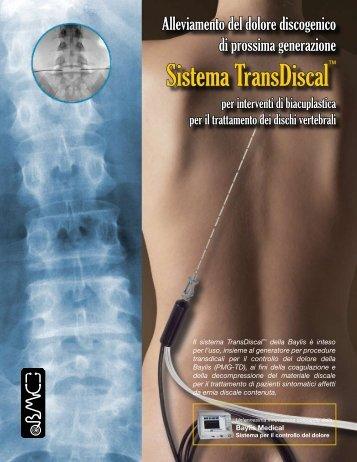 Sistema TransDiscal™ - the Baylis Medical Canada Website