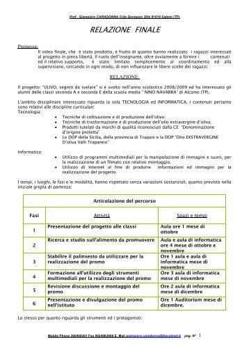 Relazione finale: relazione_caradonna.pdf - Scuolab