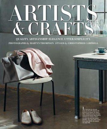 artists & crafts - Departures