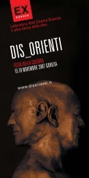 Brochure Gorizia-Nissim, 18 novembre 2007 - Gariwo
