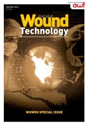 WUWHS SPECIAL ISSUE - World Union of Wound Healing Societies
