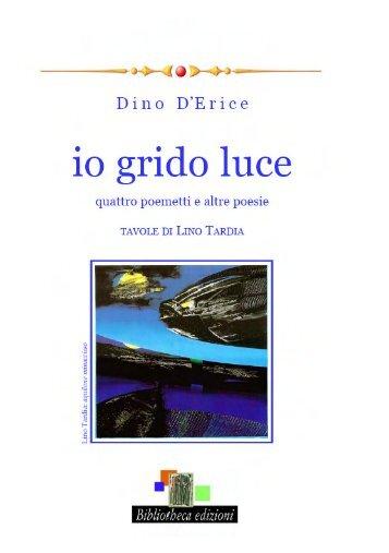 d'erice io grido luce - Sindacato Libero Scrittori Italiani