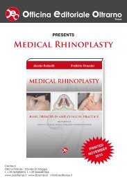 "Presentation of ""Medical Rhinoplasty"" - Braccini"