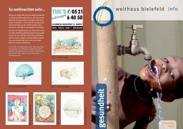 gesundheit - Welthaus Bielefeld