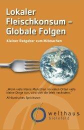 Unser Fleisch macht Hunger! - Welthaus Bielefeld