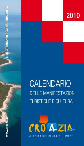 Calendario Business.Dalmacija Magazines
