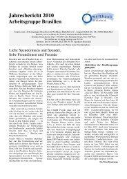 den Jahresbericht als pdf herunterladen - Welthaus Bielefeld
