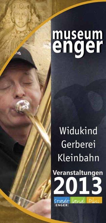 Veranstaltungsprogramm - Widukind-Museum Enger