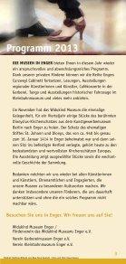 Veranstaltungsprogramm - Widukind-Museum Enger - Seite 3