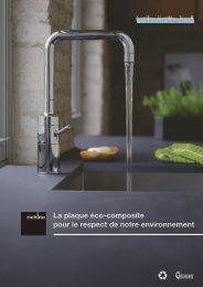 La plaque éco-composite pour le respect de notre environnement
