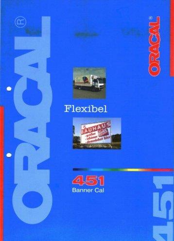ORACAL 451 Banner Cal - MM Werbung