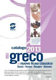 SCARICA IL CATALOGO di GRECO - Simone per la scuola