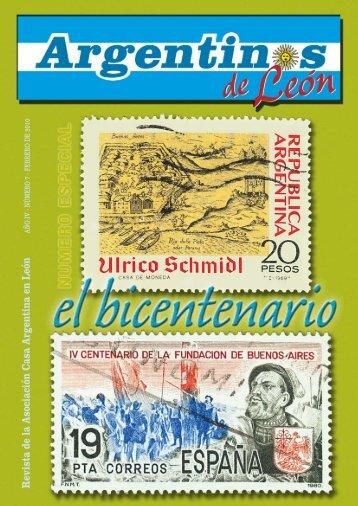 Revista de la Asociación Casa Argentina en León - Pampeando y ...