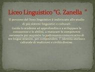 """Liceo Linguistico """"G. Zanella """""""