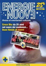 Croce Blu: da 25 anni nel cuore dei modenesi... Buon Natale di cuore!