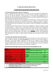 LA RIVOLUZIONE FRANCESE A. Dagli Stati Generali alla ... - Appunti