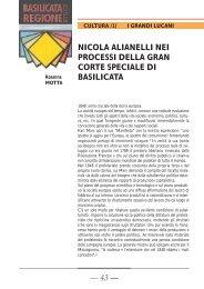 1 - Consiglio Regionale della Basilicata