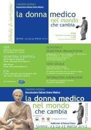 depliant_aidm_2012 - Associazione Italiana Donne Medico (AIDM ...