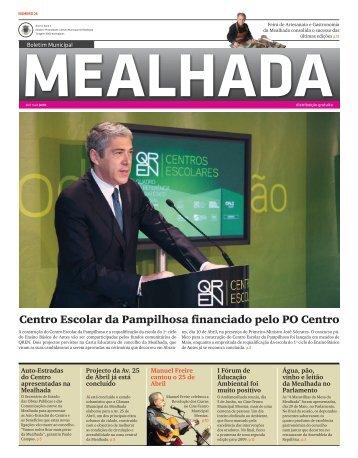 Boletim Municipal n.º26 - Câmara Municipal de Mealhada