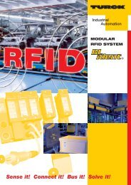 Modular RFID System BL ident®