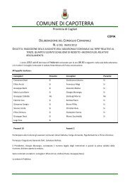 delibera CC n 6 del 06.02.2012 - Comune di Capoterra