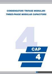 condensatori trifase modulari three-phase modular capacitors tc10