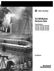 1747-UM011F-EN-P, SLC 500 Modular Hardware Style User Manual