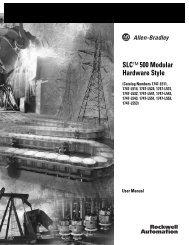 1747-UM011E-EN-P, SLC 500 Modular Hardware Style User Manual
