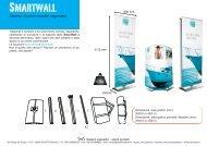 Sistema di pareti modulari sagomabili - SwS – espositori pubblicitari