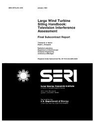 Large Wind Turbine Siting Handbook: Television ... - NREL