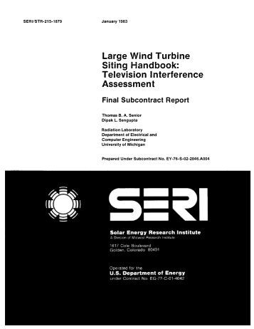wind turbine handbook