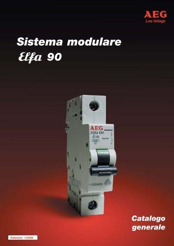 Componenti modulari - AEG Elettra