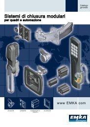 Sistemi di chiusura modulari - Catalogo generale - 2011 - EMKA ...