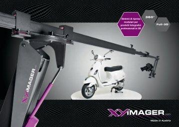 Sistemi di ripresa modulari per prodotti fotografici professionali in 3D ...