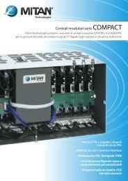 Centrali modulari serie COMPACT