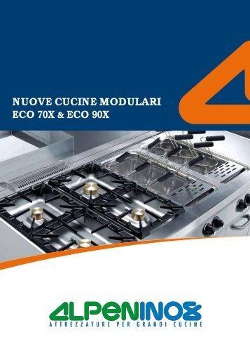 Cucine a legna berton caratteristiche principali for Cucine modulari