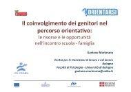 Scarica la presentazione del prof. Martorano - Provincia di Torino