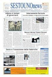 Edizione n°4 - SESTOUNOnews