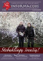 2011 Nr. 4, gruodis - Vokietijos lietuvių bendruomenė