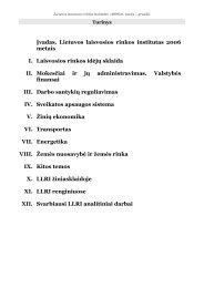 Įvadas. Lietuvos laisvosios rinkos institutas 2006 metais I ...