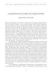 Jorge Braga de Macedo, Lusofantasmas nos lados do Campo ... - IICT